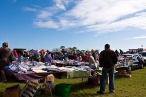 Rye foreshore market